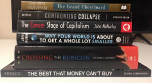 Lot of Geo-Political Books for Sale