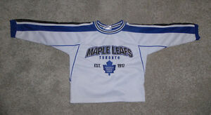 Toronto Maple Leafs jerseys size 2T, 4T and 4 - 7y $ 10 ea
