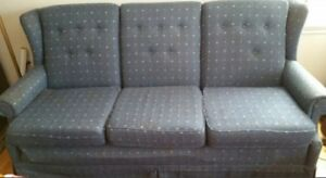 Sofa, Chair, Recliner, Coffee table, end tables