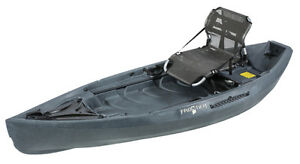 NuCanoe Frontier 10 Fishing Kayak with 360 Pinnacle seat!!