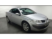 2007(07)RENAULT MEGANE CONVERTIBLE 1.9 DCi MET SILVER,6 SPEED,CLEAN CAR,GREAT VALUE