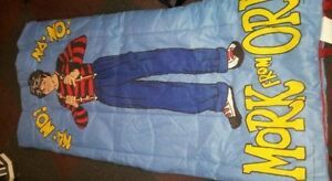 Mork from ork robin williams   1978 sleeping bag..wow!! Cornwall Ontario image 3