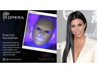 OPERA LED FACIAL MASK - CELEBRITY FAVOURITE Wrinkle reduction, Skin toning, tightening, dark spots