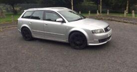 Audi A4 breaking