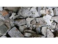 Rubble and Hardcore collection, only £10 per tonne*