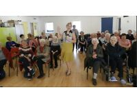 Entertainer Available - Day Centres, Care Homes, Sheltered Accommodation and Events
