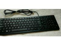 Lenovo LXH-EKB-10YA USB black slim keyboard