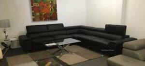 new Sofas Leather Fabric NO INTEREST, NO DEPOSIT