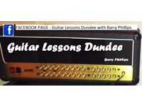 *FREE LESSON* GUITAR LESSONS DUNDEE with Barry Phillips