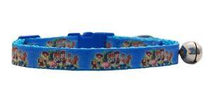 Blu-Buzz-Woody-034-Toy-Story-034-sicurezza-kitten-collare-per-gatti-3-misure