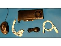 Graphics Card Nvidia GTX570 Video Card plus other goods