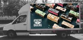 Sales Delivery Driver in Bakery Bread Goods