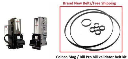 Coinco Mag / Bill Pro bill acceptor validator belt kit