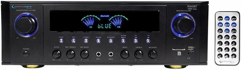 New Bluetooth 1000 Watt Home Stereo Receiver Amp Amplifier F