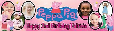 1st (First ) Birthday Party Personalised Banner with photos - just ask??
