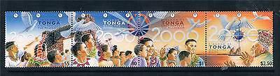 Tonga 1999 New Millenium SG1462/5 MNH