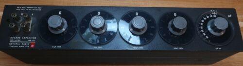 General Radio 1412-BC Decade Capacitor - Very Good
