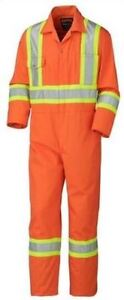 Pioneer Hi-Vis Coveralls (New in original package)