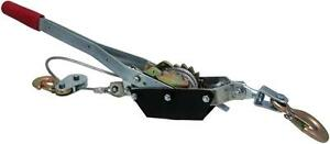 2 TON HAND WINCH - EASILY GET YOUR VEHICLE UNSTUCK FROM SNOW OR MUD - AMAZING SURPLUS PRICE!