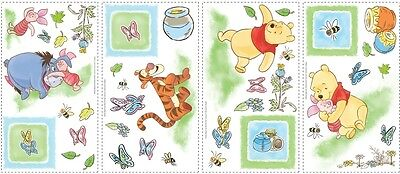 Macy's Home Decor WINNIE THE POOH WALL STICKERS 49 New Eeyore Tigger Piglet Decals Nursery Decor Regal Home Decor