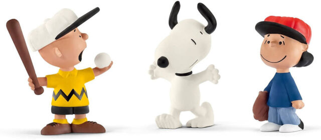 Snoopy and the Peanuts figurine Peppermint Patty 2 3//8in Schleich 220522