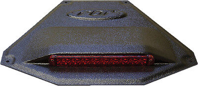 "PDP LED TAILLIGHT W/HOUSING BLACK/RED 12.25""X9.5"""
