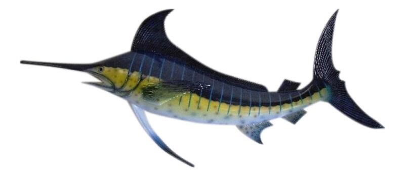 Marlin Replica Nautical Saltwater Fishing Wall Decor
