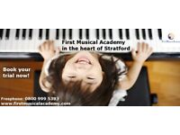 First Musical Academy 10th Anniversary! Enrol now for discounted Piano,Singing,Violin,Guitar Lessons