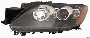 Head Lamp Driver Side With HID Without Bulb/Module High Quality Mazda CX-7 2007