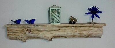 - Rustic Cedar Log Mantel / Fireplace / Shelf /Wood/ Cabin / Lodge /Log Furniture
