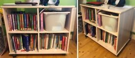 4 Cube Storage Unit Cupboard