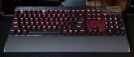 Corsair K70 Mechanical Keyboards Cherry MX Red LED.