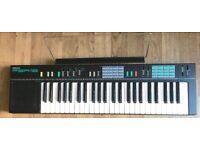Yamaha PSR-12 Electronic Keyboard 49 Full-Size Keys w/ AC Adapter Full size keys