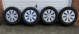 Toyota Auris Steel Wheels with Michelin Tyres and Original Wheel Trims - Set of 4