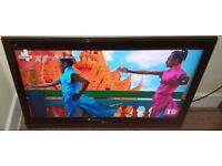 LG 42 Inch FULL HD 1080P LCD TV, Freeview, Remote, Good con. NO STAND, BRACKET INC. Bargain!!