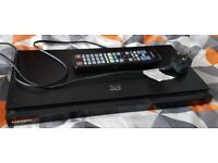 Samsung BD-D5500 3D Blu Ray Player with remote USB DivX