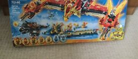 Brand new Lego chima - flying phoenix fire temple 70146