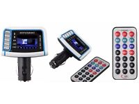 Car MP3 Player Wireless FM Transmitter