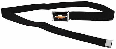 Clamp Web Men Canvas Military Chevrolet Impala Camaro Silverado 1.25 Black