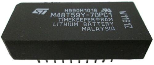ST M48T59Y-70PC1 M48T59Y TIMEKEEPER SRAM IC DIP-28 RH