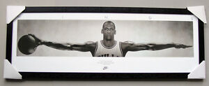 MICHAEL JORDAN WINGS SLIM POSTER IN frame Ready to Hang NBA CHICAGO BULLS