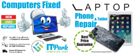 Phone, Tablet, Computer virus removal, Laptop, LCD screenRepairs