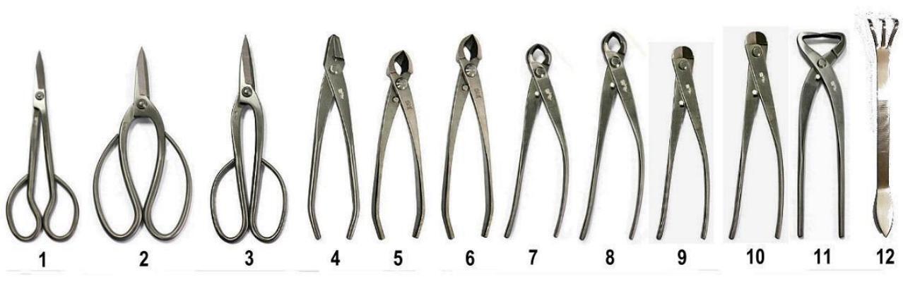RYUGA Bonsai Werkzeug Set 3tlg EDELSTAHL TopQualität SONDERPREIS