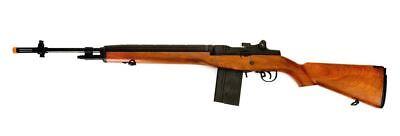 "Lancer Tactical M14 LT-732W Electric Rifle Faux Wood 44"" Airsoft AEG SOCOM Gun for sale  Oceanside"