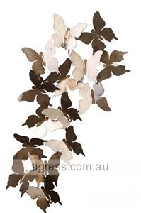 EE-I-EE-I-O Butterfly Wall Panel Outdoor Garden Metal Sculpture Castle Hill The Hills District Preview