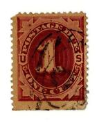1 Cent Postage Due Stamp