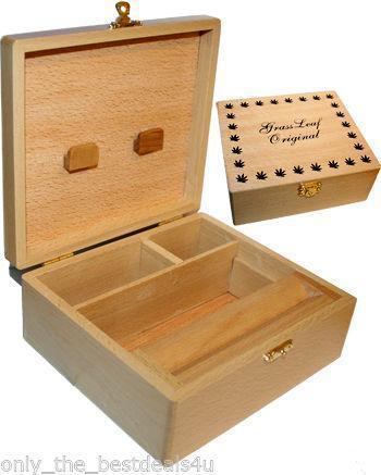 Wooden Rolling Box Ebay