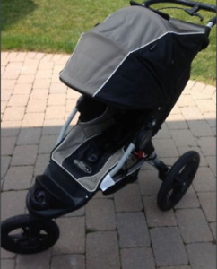 Baby Jogger Summit XC Stroller, Car Seat Adapter & Extras *EUC*
