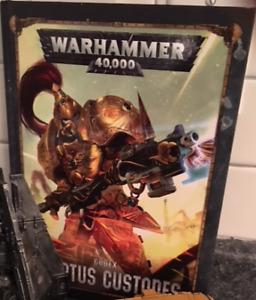 Warhammer 40k Custodes Codex