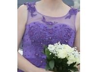 Bridesmaid Dress Cadbury Purple